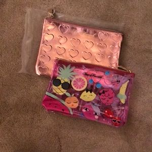 Brand new Too Faced cosmetic bag bundle